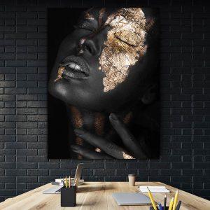 Tablou canvas Golden Girl