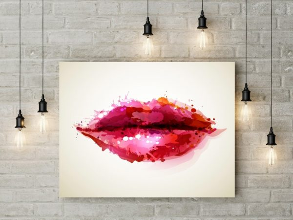 Tablou canvas Abstract Lips