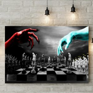 Tablou canvas Good Vs Evil