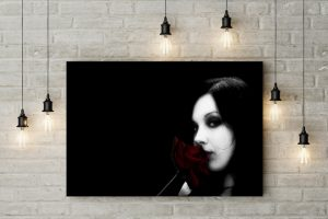 Tablou canvas Rose Girl