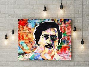 Tablou canvas Pablo Escobar