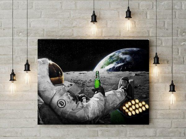 Tablou canvas Bitcoin Power