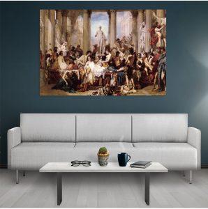 Tablou canvas Romains de la décadence