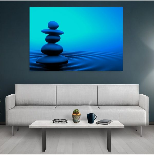 Tablou canvas Water Stone