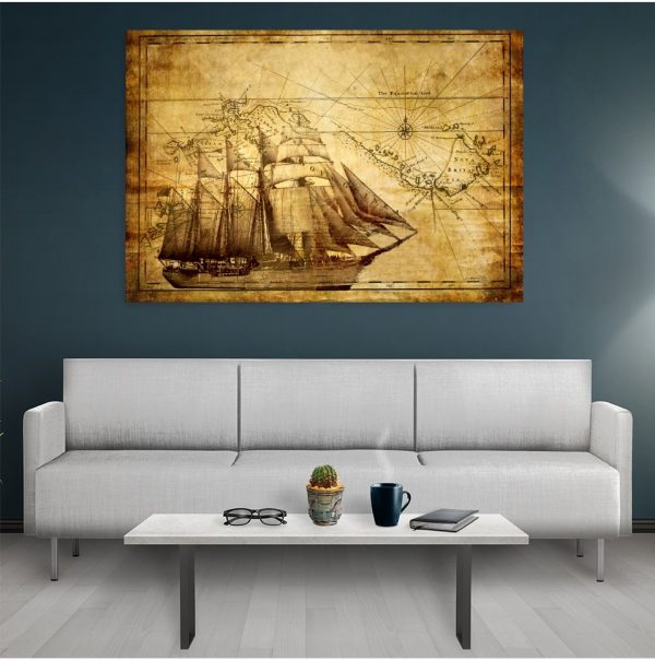 Tablou canvas Old Ship
