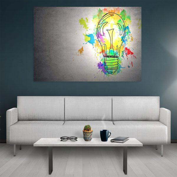 Tablou canvas Motivational Ideea
