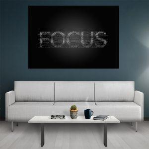 Tablou canvas Motivational Focus