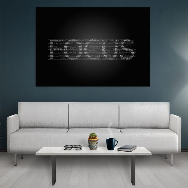 Tablou canvas Motivational Focus