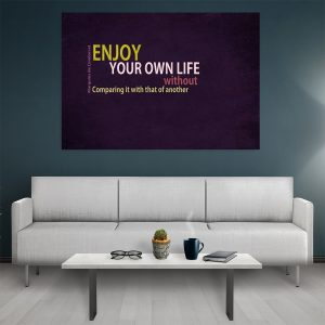 Tablou canvas Motivational Enjoy