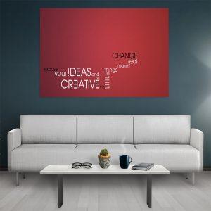 Tablou canvas Motivational Creative