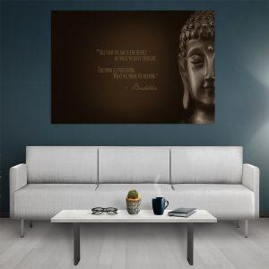 Tablou canvas Motivational Buddha