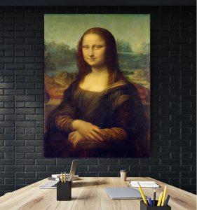 Tablou canvas Monalisa - Leonardo Da Vinci