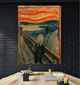 Tablou canvas The Scream Edvard Munch