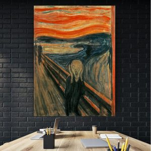 Tablou canvas The Scream Edvard Munch