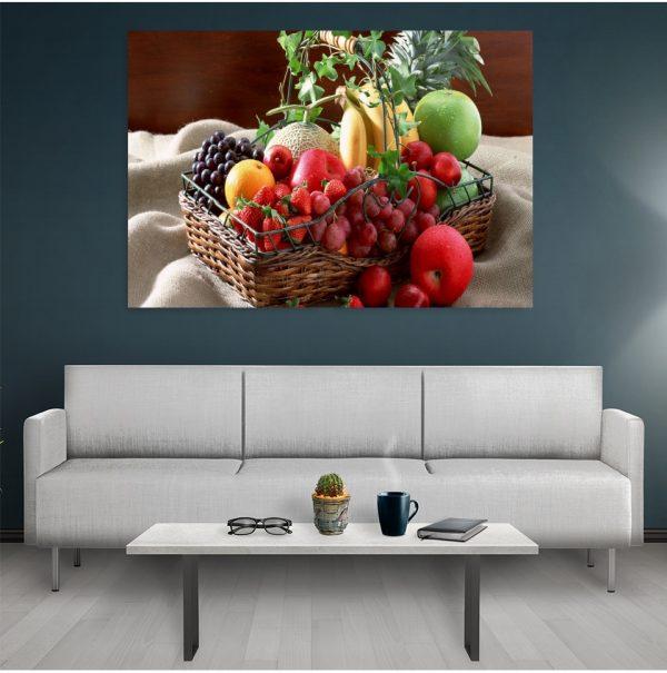 Tablouri Canvas Bucatarie Fruits Basket