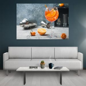 Tablouri Canvas Bucatarie Orange Drink