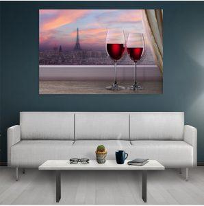 tablouri bucatarie paris wine
