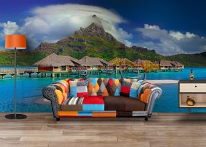 Fototapet Bora Bora -Fototapet Peisaje