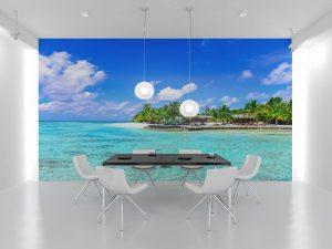 Fototapet Ocean Island -Tapet 3D