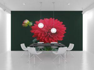 Fototapet Purple Flower - Tapet Modern 3D