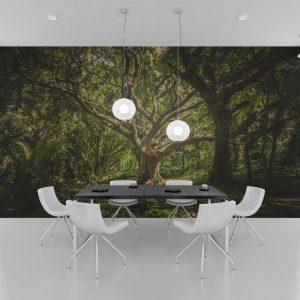 Fototapet Life Tree - Tapet living 3D