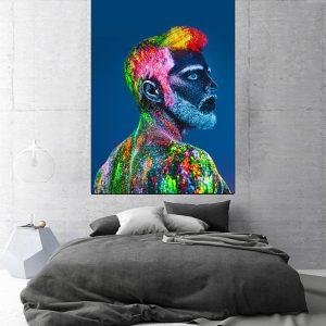 Tablou canvas modern colorful men