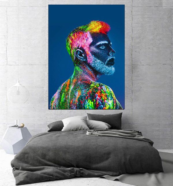 Tablou canvas modern colorful men