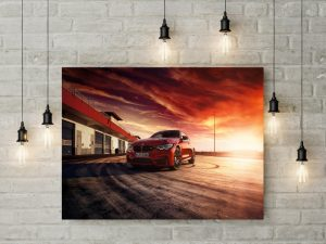 Tablou Canvas Red BMW