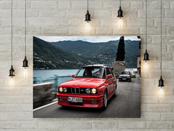 Tablou Canvas BMW Evolution