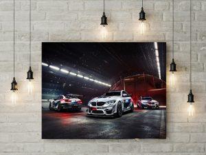 Tablou Canvas Racing BMW